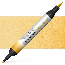 Winsor and Newton : Watercolour Marker : Raw Sienna