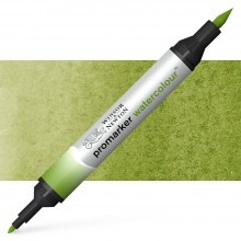 Winsor and Newton : Watercolour Marker : Sap Green