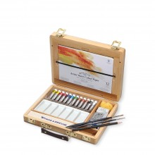 Winsor & Newton : Professional Watercolour : Bamboo Box 5ml Tube Set