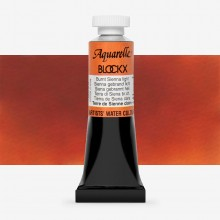 Blockx : Watercolour Paint : 15ml : Burnt Sienna Light