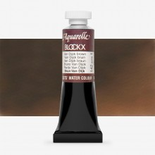 Blockx : Watercolour Paint : 15ml : Van Dijk Brown