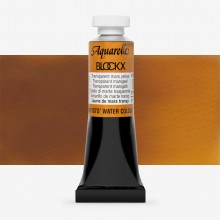 Blockx : Watercolour Paint : 15ml : Transparent Mars Yellow