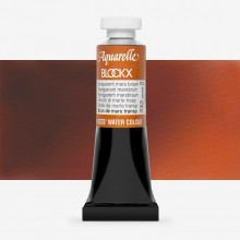 Blockx : Watercolour Paint : 15ml : Transparent Mars Brown