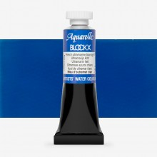 Blockx : Watercolour Paint : 15ml : French Ultramarine Blue Light