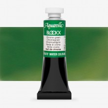 Blockx : Watercolour Paint : 15ml : Chrome Green