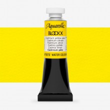 Blockx : Watercolour Paint : 15ml : Cadmium Yellow Pale