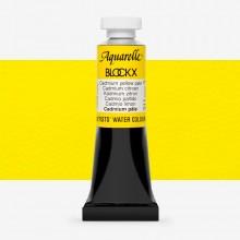 Blockx : Watercolour Paint : 15ml : Cadmium Yellow Pale