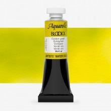 Blockx : Watercolour Paint : 15ml : Golden Green