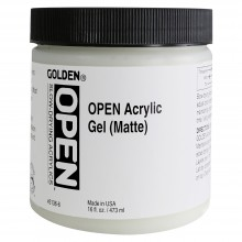 Golden Open 473ml Acrylic Gel Matt