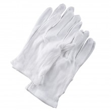 Soft Cotton Gloves : Medium : 4pcs