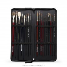 Pro Arte : Brush Case Large ~ 15x6in. closed