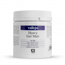 Vallejo : Acrylic Heavy Gel Matt Medium : 500ml