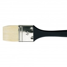 Da Vinci : Long Handled Flat Bristle Brush : 390mm : Series 7055 : Size 40mm