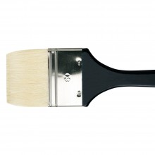 Da Vinci : Long Handled Flat Bristle Brush : 390mm : Series 7055 : Size 60mm