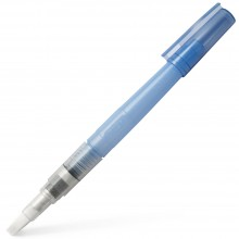 Kuretake : Zig : Water Brush (for water or ink fill) Series H20 : Flat Broad Tip