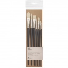 Jackson's : Shiro Professional Hog Bristle Hair Brush : Set of 7