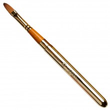 Pro Arte : Prolene Plus : Retractable (Collapsible) Filbert Brush : Size 10