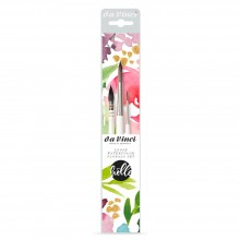 Da Vinci : Frau Holle : Watercolour Brush : Loose Watercolour Florals Set of 3