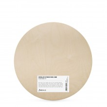 Jackson's : 6mm Circular Plywood Panel : 40cm Diameter