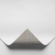 Belle Arti : 568 Medium Fine Linen : 475gsm : Universal Primed : 210cm Wide : Per Metre