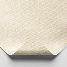 Jackson's : Medium Cotton Duck Canvas : 339gsm (10oz) : Unprimed : 183cm Wide : Per Metre : Sent folded