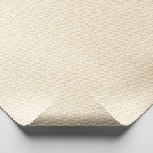 Jackson's : Medium Cotton Duck Canvas : 339gsm (10oz) : Unprimed : 183cm Wide : 5m : Sent Folded