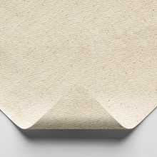 Jackson's : Medium Cotton Duck Canvas : 390gsm (12oz) : Unprimed : 183cm Wide : Per Metre : Sent folded