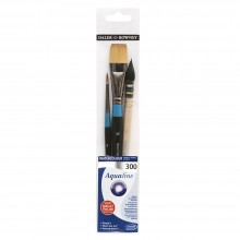 Daler Rowney : Aquafine Watercolour Brushes : Wallet Sets