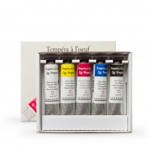 Sennelier : Egg Tempera Paint : Starter Set : 5x21ml : Tubes