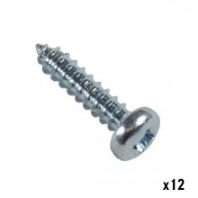 12 small steel screws (1/2 in x 4mm) For Flexi Plates