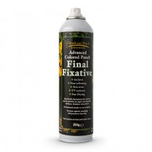 Brush and Pencil : Advanced Coloured Pencil Final Fixative : 255g : Ship By Road Only