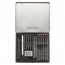 Cretacolor : Black Box Charcoal Drawing Set of 20