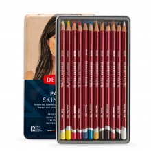 Derwent : Pastel Pencil : Set of 12 : Skintones