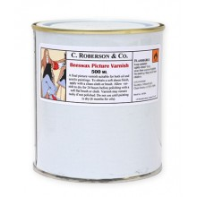 Roberson : Beeswax Picture Varnish : 500ml