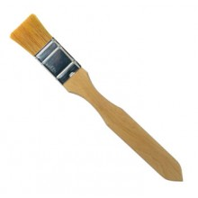 Handover : Flat Thin Ox Hair Lacquer Brush : 1.5 in