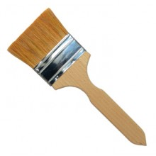 Handover : Flat Thin Ox Hair Lacquer Brush : 3 in