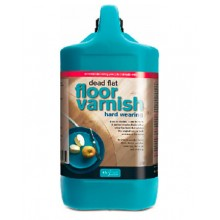 Polyvine : Hard Wearing Floor Varnish Dead Flat Finish : 2 litre
