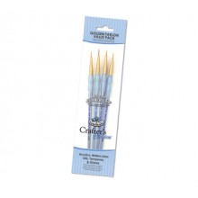 Royal Brush : Gold Nylon Detail Brush Set