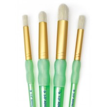 Royal Brush : 4Pc Stencil Brush Set