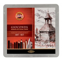 Koh-I-Noor : Gioconda 24 Piece Sketching Tin Sets
