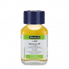 Schmincke : Mussini Oil Medium : W Makes Oils Water Mixable : 60ml