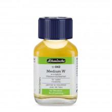 Schmincke : Mussini Oil Medium : W Makes Oils Water Mixable : 60ml
