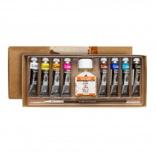 Maimeri : Classico Fine Oil Paint Set : 8x20ml : Plus 1x75ml Thinner : Ship By Road Only