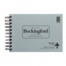 Bockingford : Spiral Fat Pad : 300gsm : A5 : 25 Sheets : Not