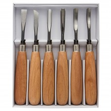 JAS : Premium Wood Cut Knife : Set of 6