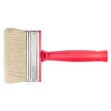 RTF Granville : White Bristle Block Brush : Plastic Handle