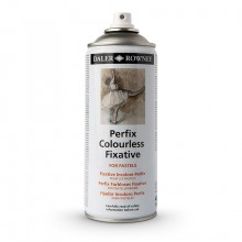 Daler Rowney : Perfix : Colourless Fixative Spray : 400ml : Ship By Road Only