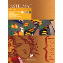 Claire Fontaine : Orange label Pastelmat Pad 30x40cm : 12 Sheets 360gsm