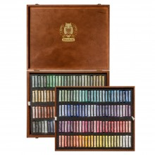 Schmincke : Soft Pastel : Wooden Presentation Case Set : 200 Sticks