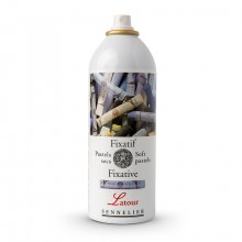 Sennelier : Latour Aerosol Soft Pastel Fixative : 400ml : : Ship By Road Only